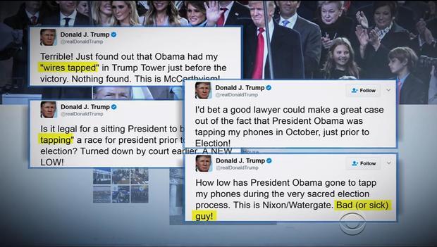 Novas Rugas No Presidente Trump Declarações De Obama Escutas Telefônicas No Trump Tower