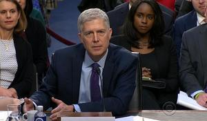 Gorsuch stays cool in the face of Democratic grilling