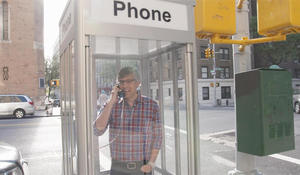 Last call for the phone booth?