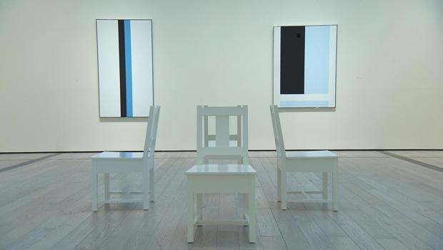 Artist John McLaughlin's long-overdue show - CBS News John Mclaughlin Artist Painter
