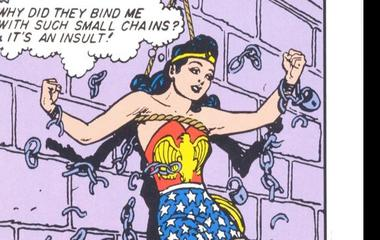 The imperishable Wonder Woman