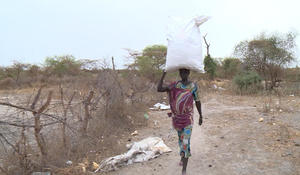 Airdrops providing desperately needed food in South Sudan