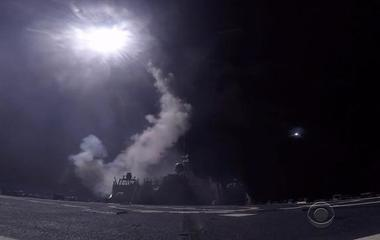 Behind the scenes of the U.S. Navy's Syria strike
