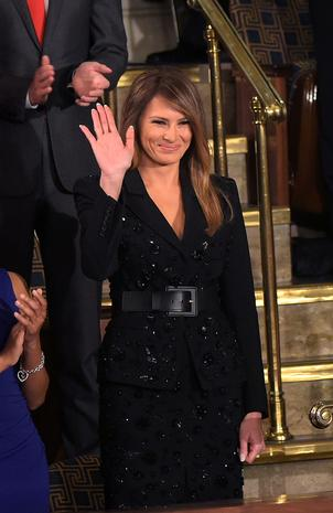 Melania Trump's appearances as first lady