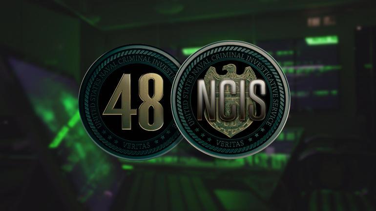 48 Hours: NCIS logo