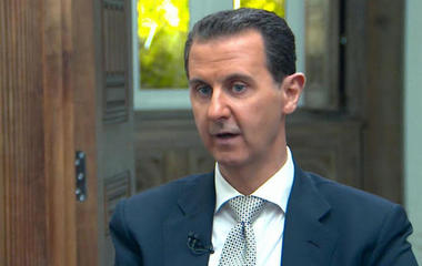 President Assad says there was no chemical attack in Syria