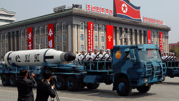 North Korean missile test ends in failure