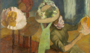 Hats off to Degas and the millinery trade