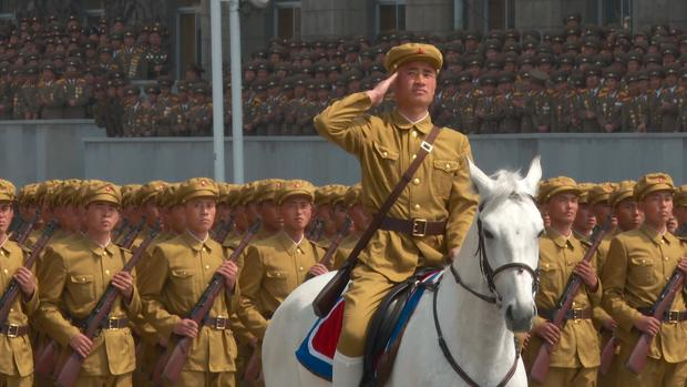 Kim Jong Un's North Korea military spectacle