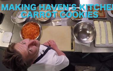 How to make Haven's Kitchen carrot cookies