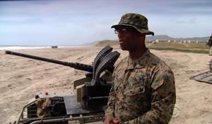 Marines test futuristic weapons of warfare