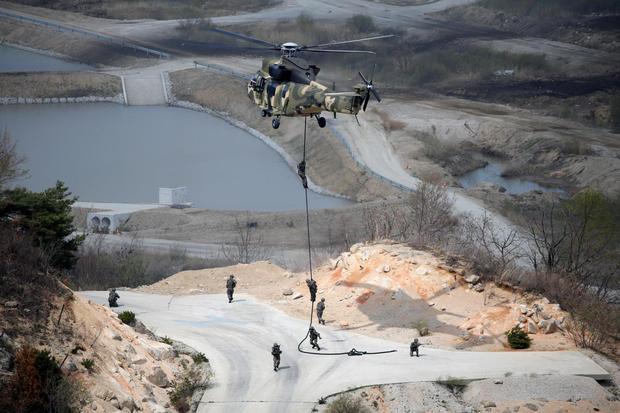 U.S. & South Korea conduct live-fire drills amid rising tensions