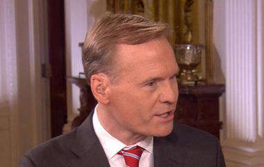 John Dickerson on interviewing President Trump