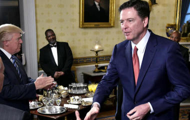 White House, Trump give contradicting accounts of Comey's firing