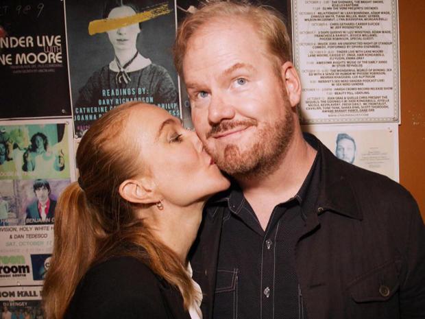 吉姆 -  gaffigan和妻子,jeannie.jpg