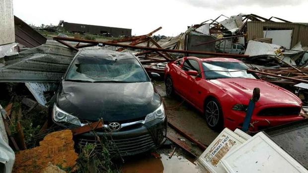 Tornados Hit Texas, Oklahoma And Wisconsin