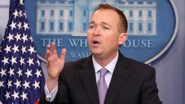 White House's Mulvaney backs