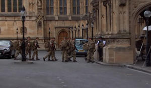 A show of force on Britain's streets as troops deployed