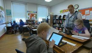 Teachers for blind students say iPads are revolutionary for students