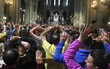 Dozens of tourists locked inside Notre Dame during police operation