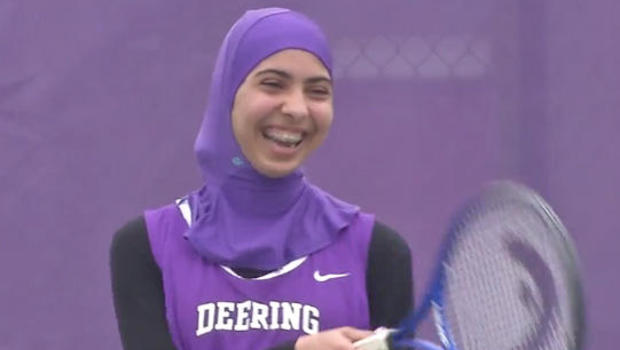 deering muslim Deering high school in portland, maine, is providing sports hijabs with the goal of making muslim girls comfortable — and boosting their participation in sports.