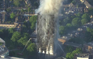Deadly fire tears through London apartment tower
