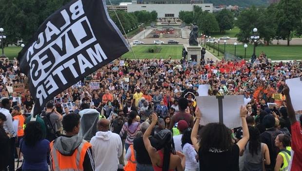 Protesters Block Freeway After Philando Castile Verdict