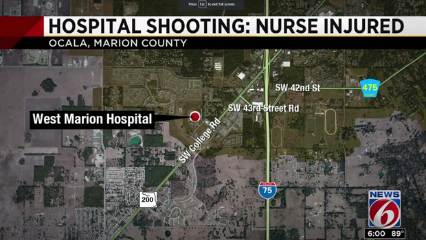 Nurse Shot While Working in Emergency Room in Ocala