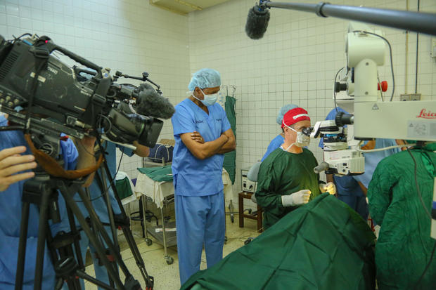 Life-changing surgery gives the gift of sight