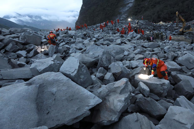 Massive landslide buries some-more than 120 people