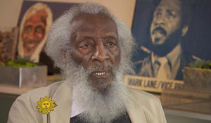 Dick Gregory: Serious about humor