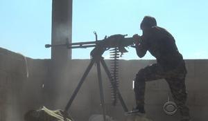 "U.S. troops ""just getting started good"" in Raqqa"