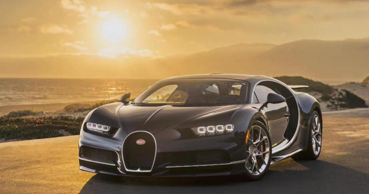 World S Fastest Production Car Videos Cbs News