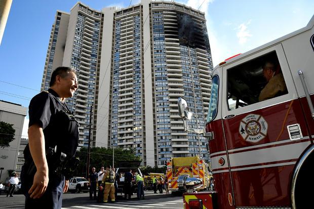 夏威夷公寓大楼火灾
