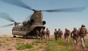U.S. Marines return to Helmand to drive out Taliban
