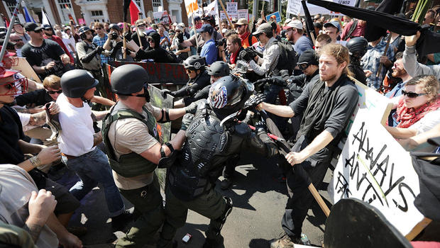 White supremacist rallies in Va. lead to assault