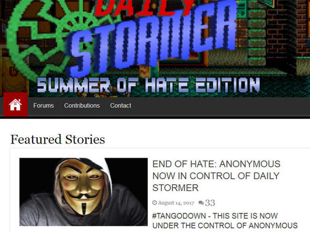 GoDaddy pulls neo-Nazi website Daily Stormer after offensive article about Charlottesville victim