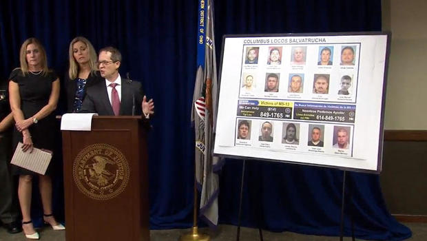 Thirteen MS-13 gang members arrested in OH and Indiana