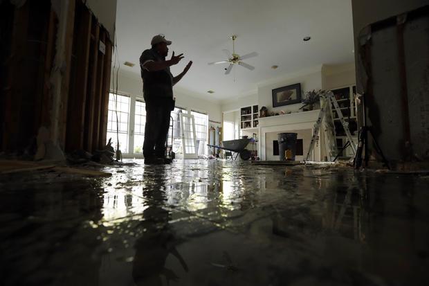 哈维洪水泛滥