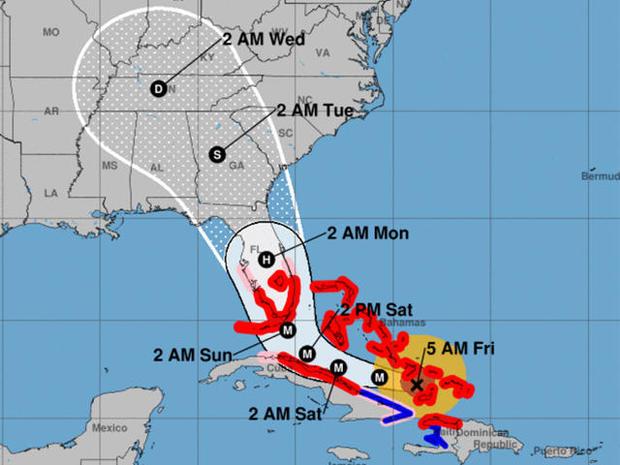 飓风IRMA圆锥投影路径-AS-的-5-AM-090817.jpg
