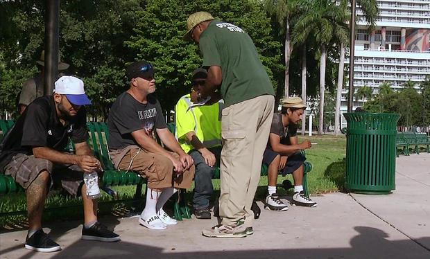 飓风艾玛无家可归者收容所