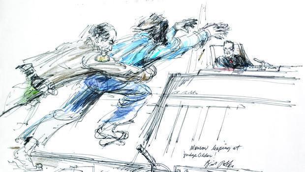 法庭草图查尔斯曼森 - 飞跃 - 罗伯斯-620.jpg