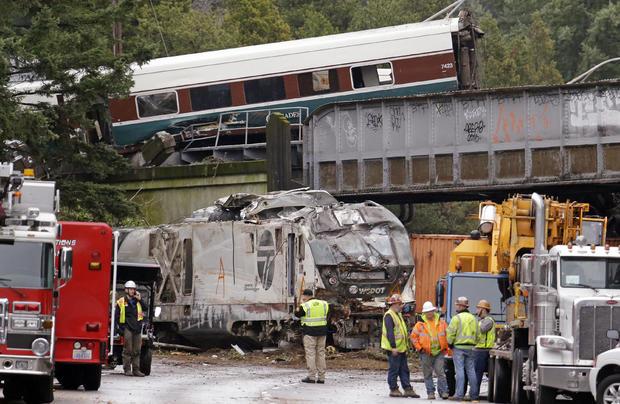 火车出轨华盛顿州