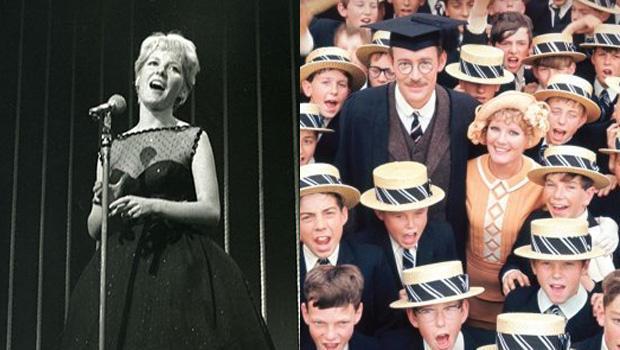 PETULA CLARK  Promotional photo of UK singer and film actress about 1963