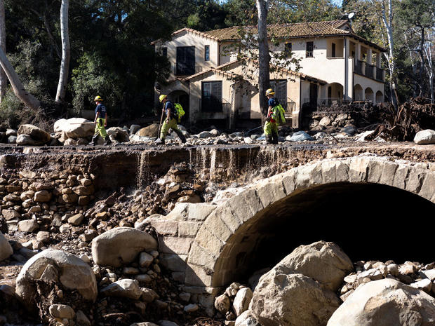 Deadly California mudslides