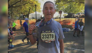 Running gives 81-year-old Holocaust survivor the strength to tell his story