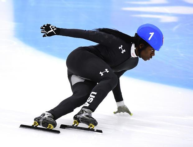 美国奥运代表队的试训 - 短道