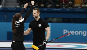 Russian curler under fire for alleged doping