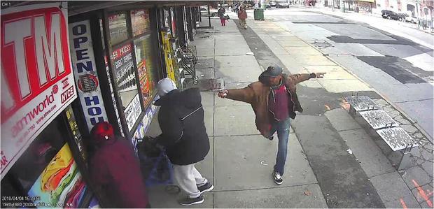 警方射击布鲁克林