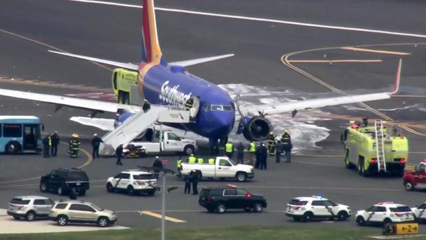西南航空公司紧急降落